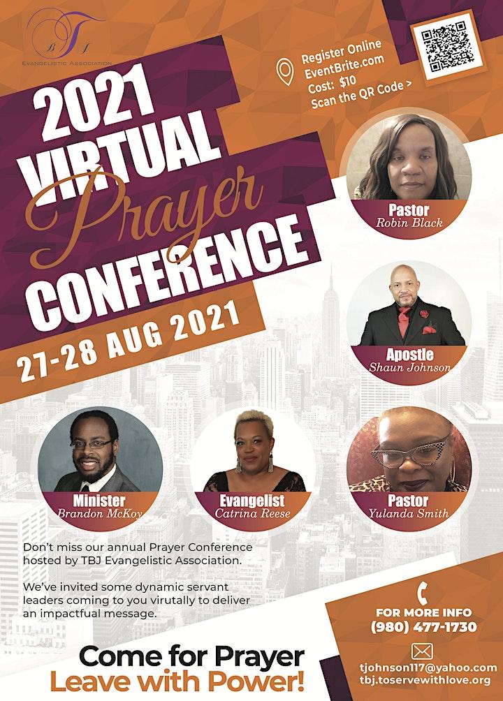 2021 Prayer Conference image