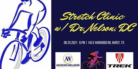 Cyclist Stretch Seminar for Injury Prevention, Recovery, and Performance tickets