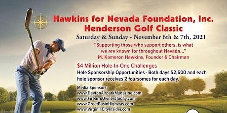 Henderson Golf Classic November 6th & 7th, 2021 tickets