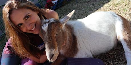 Goat Yoga Texas - SUPER SUMMER! - Sun, July 18 @ 10am tickets