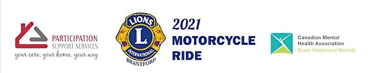 Motorcycle COVID-19 Charity Run image