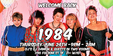 1984 every Thursday night at Cat Club tickets
