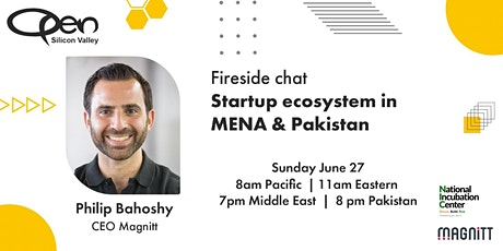 Startup ecosystem in MENA & Pakistan tickets
