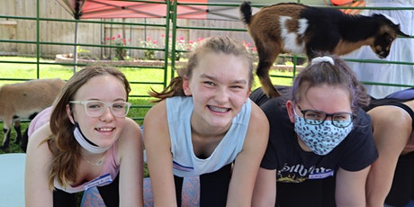 Goat Yoga Texas - SUPER SUMMER! - Sun, July 25 @ 10am tickets