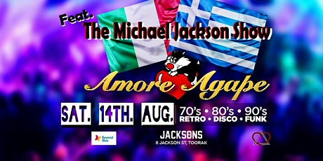 Amore & Agape - Feat. Michael Jackson Tribute Show tickets