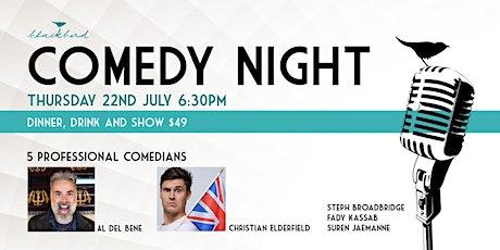 Comedy Night at Blackbird Cafe tickets