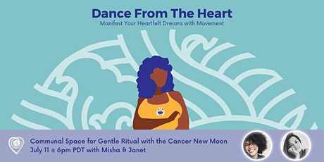 Dance from the Heart - Moving with the New Moon in Cancer boletos