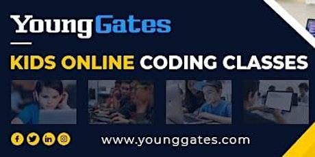 Kids Online -  Intro To  JavaScript Class tickets