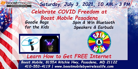 Celebrate COVID Freedom at Boost Mobile Pasadena tickets