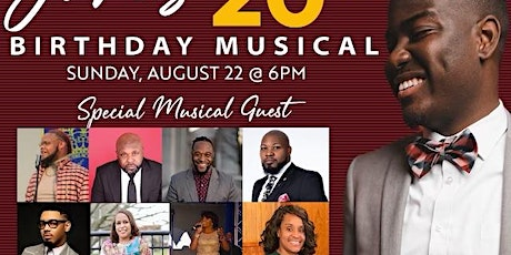 James' 20th Birthday Musical tickets