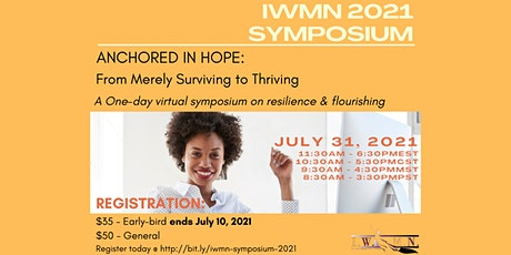 ANCHORED IN HOPE: From Merely Surviving to Thriving tickets