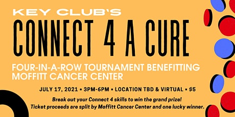 Connect 4 A Cure tickets