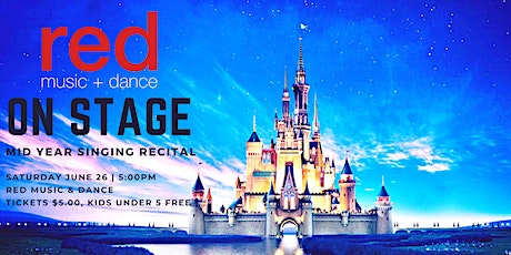 ON STAGE - Mid Year Singing Recital - 5:00pm **New Show** tickets