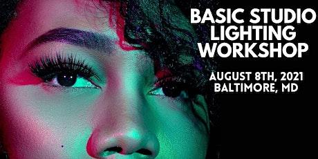 Basic Studio Lighting Workshop tickets