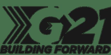 G21 Building Forward tickets