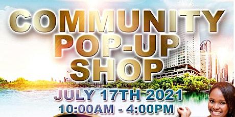 Community Pop-Up Shop tickets