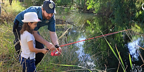 Junior Rangers Come and Try Fishing with Fishcare Victoria tickets