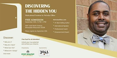 Discovering The Hidden You tickets