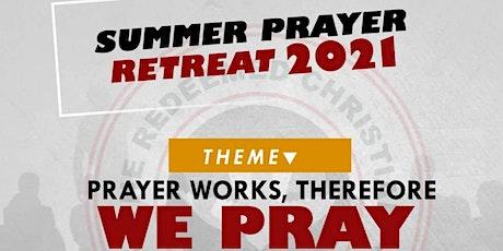 Summer Prayer Retreat tickets