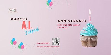 AI Journal Celebrates 1st Anniversary tickets