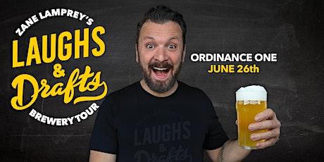 ORDINANCE ONE  •  Zane Lamprey's  Laughs & Drafts  • New Port Richey, FL tickets