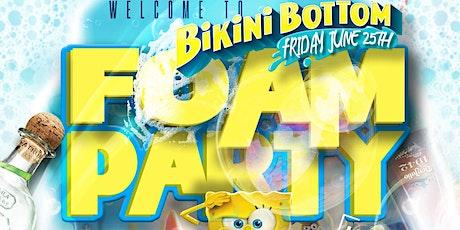 Welcome To Bikini Bottom Foam Party tickets