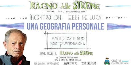 """Incontro con Erri De Luca.  """"Una geografia personale"""" biglietti"""