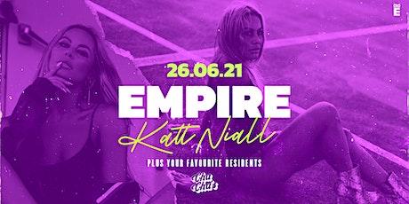 Empire · Katt Niall @ Cha Cha's Bar tickets