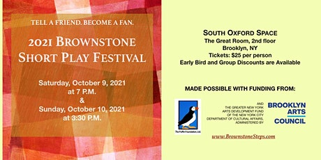 2021 Brownstone Play Festival tickets