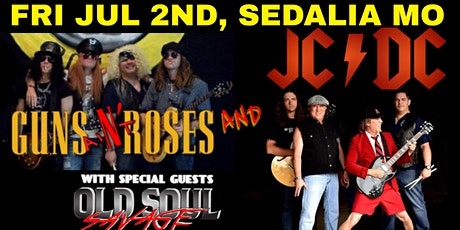 Guns aiN't Roses and JCDC with Old Soul Savage tickets