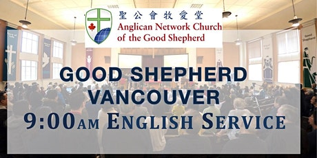 Sunday Worship (English) 9:00 a.m. tickets