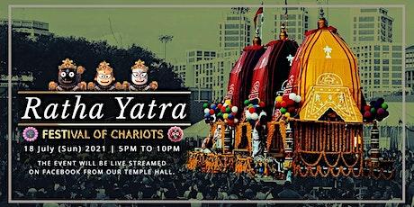 Ratha Yatra 2021 - Online Event tickets