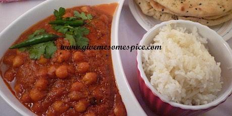 Potato and chickpeas curry (Alu chole) tickets