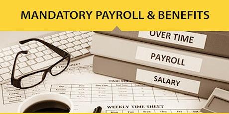 Live Webinar: Mandatory Payroll & Benefits Administration tickets