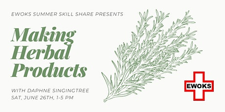Making Herbal Products tickets