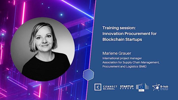 Innovation Procurement for Blockchain Startups: Training Session image