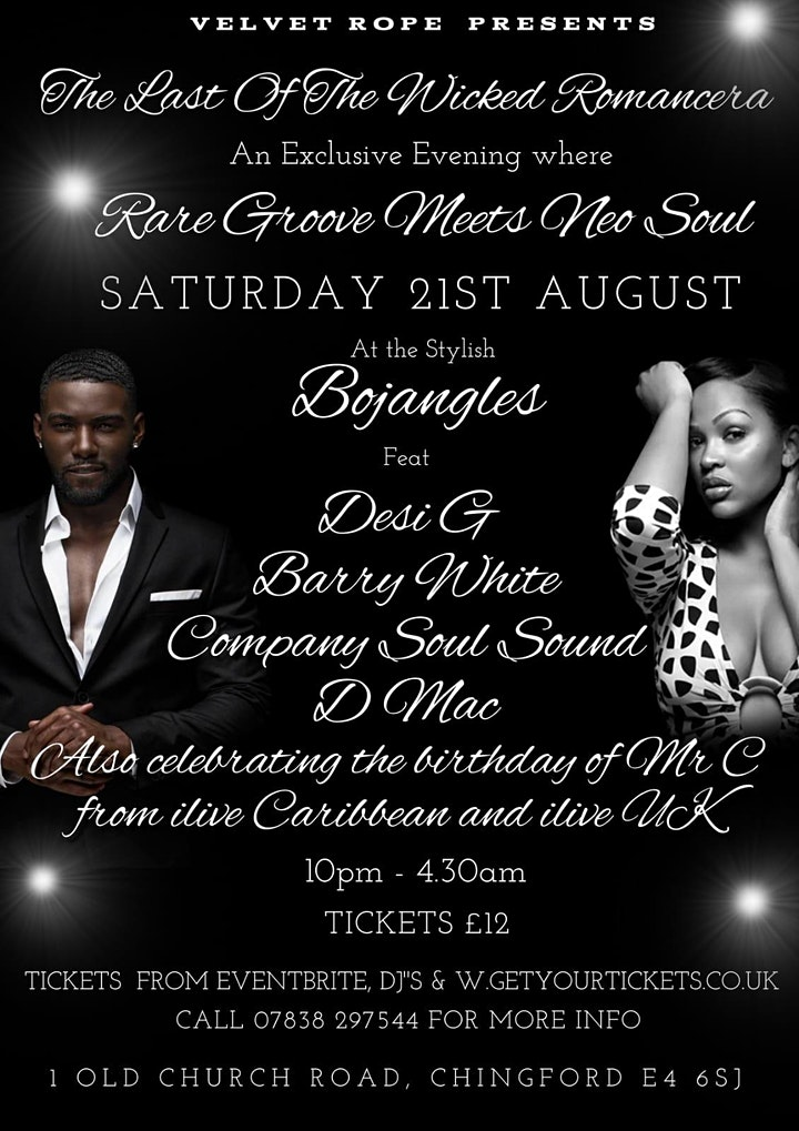 Rare Grooves and Soul Night at Bojangles in Chingf image