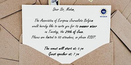 Live Media Event  - Association of European Journalists Belgium tickets