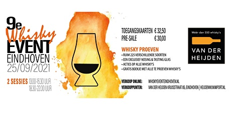 Whisky Event Eindhoven 2021 tickets