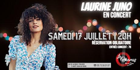 [CONCERT] Laurine Juno au Chorus billets
