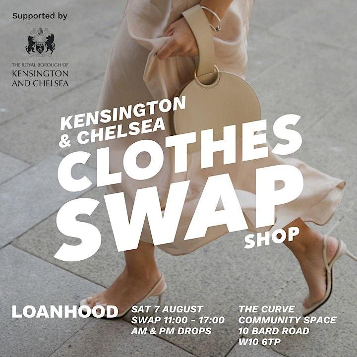 LOANHOOD X KENSINGTON & CHELSEA COUNCIL CLOTHES SWAP image