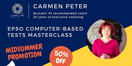 EPSO Competitions & CAST Selection CBT (Computer-Based Tests) Masterclass tickets