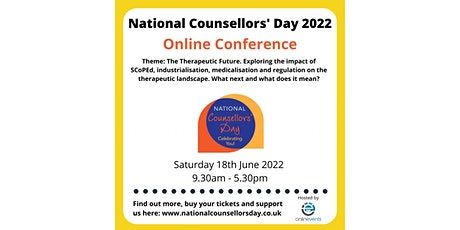 National Counsellors' Day Conference 2022 tickets