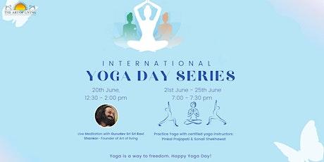 International Yoga day Series tickets