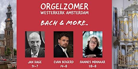 Westerkerk Amsterdam Orgelzomer - Bach & more.. tickets