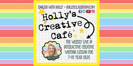Holly's Creative Café (26/6/21) Creating Interesting Conflict tickets