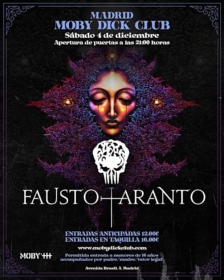 Imagen de FAUSTO TARANTO EN MADRID (SALA MOBY)
