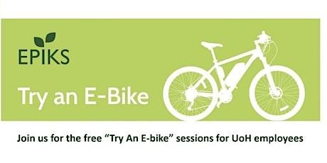 University Of Huddersfield/ EPIKS Try An E-bike tickets