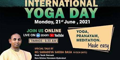 International Yoga Day 2021 |FOLK Hyderabad tickets