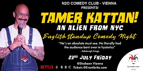 Tamer Kattan (U.S.) - English Stand-Up Comedy Night tickets